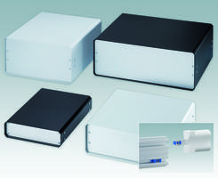 New Aluminum Instrument Enclosures Offer Access to PCBs and Components