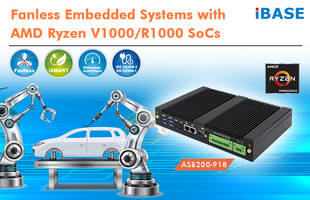 New Fanless Embedded Systems Support 2x M.2 Sockets