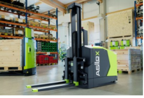 New Counterbalanced Forklifts for Material Supply in Production