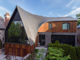 A-House Imaginative Dragon-scale Roof Design Realized with RHEINZINK Zinc Panels