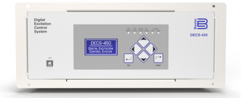 New Digital Excitation Control System Built on Proven DECS Microprocessor-based Platform