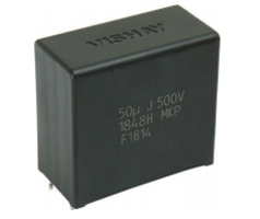 New Metallized Polypropylene Film Capacitors Provide High Ripple Current Capabilities up to 25.1 A