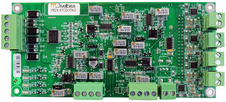New VB2X-4TCDOTAO Plug-In Expander Comes with Analog I/O, Digital I/O, and Temperature Sensing Capabilities