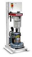 New Vacuum Pump Features Clear-Vu Dust Collection Bin