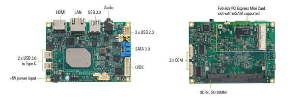 New Embedded Boards Equipped with One Gigabit Ethernet Port with Intel i211AT