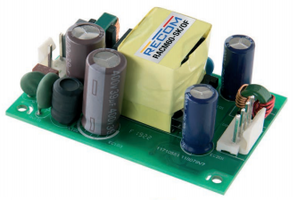 RECOM Power's RACM60 Series AC/DC Power Supplies Now Shipping from Sager Electronics