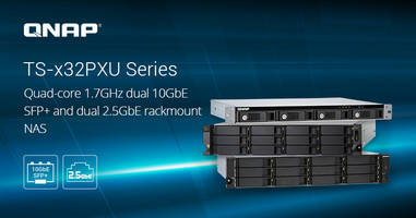 New Rackmount NAS Provides Flexibility for High-speed Network Deployment