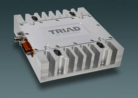 New High-power Amplifier Operates Across Broad Frequency Range of 300 MHz to 6 GHz