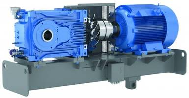New Industrial Gear Units Can Cover Ratios up to 30,000:1 when Paired with Auxiliary Primary Stage Gear Unit