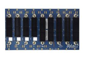 "New 3U OpenVPX Backplanes Used in 19"" Rack Mountable Chassis Platform Designs"