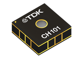 TDK Announces Worldwide Availability of Chirp CH101 Ultrasonic ToF Sensor Platform