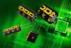 New DSF Series Supercapacitors are RoHS Compliant