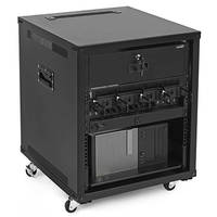 New Portable Rolling Network Racks Available with Built-in Side Handles