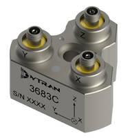 New 3683C Accelerometer Features Ground Isolated Triaxial Design