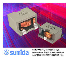 New SMD Inductors Available with Full Operating Temperature Range of -40 to 150 degree C