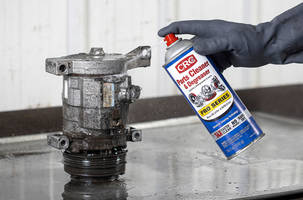 New CRC Parts Cleaner & Degreaser Available with PowerJet Spray Nozzle