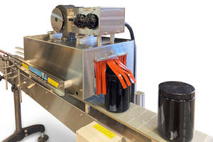 New Heat Shrink Tunnel Available with Stainless Steel Construction and Heat-resistant Curtains