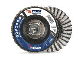 New Tiger Aluminum Flap Discs Feature Paired Flap Design