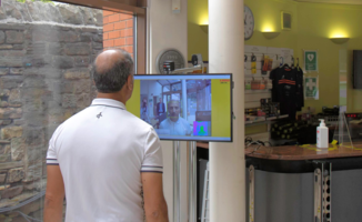 Sporting Chance - How a UK Tennis and Squash Club is Using Thermal Imaging Technology to Minimise Coronavirus Risks