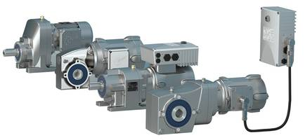NORD's Smooth Body Gear Units with Internal Gearing and Shafts Constructed from Highgrade Stainless Steel
