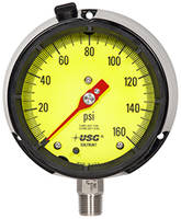 New SOLFRUNT Process Gauges Come with Bourdon Tubes and Special Low Visibility Dials