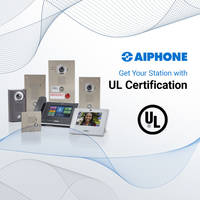 Aiphone Announces Select IX Series Video Intercom Door Stations Have Received UL Standard 62368-1 for Audio/Video Certification