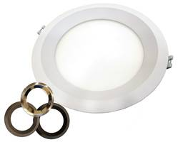 New LED Regressed Down Light CCT Available with 50,000 hour Life Rating