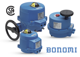 CSA-Approval of Bonomi's Valbia Electric Actuators Gives Wholesalers and Installers a Superior Source Throughout North America