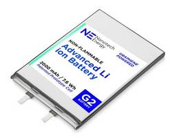 New Non-flammable 18650 Batteries Reduce Chances of Internal Short Circuit