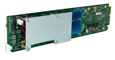 New 9905-MPx Synchronizer Offers Four Channels Per Card with Flexible AES and MADI Embed/De-Embed