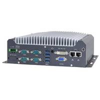 New Fanless Embedded Computer Provides VGA + DVI Dual Display Outputs