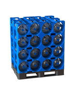 New Four-gallon ProStack Modular Racking System Offers 360 degrees of Bottle Protection