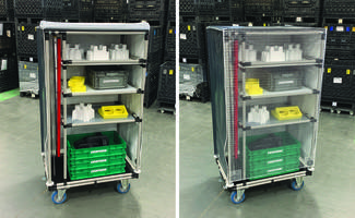 Latest Kitting Cart from Creform is Designed to Hold up to 375 lb
