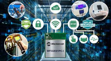 New Wi-Fi Microcontroller Module Includes PIC32MZW1 Curiosity Board