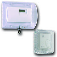 New Thermostat Protector Cover Molded of Heavy-duty Polycarbonate Material