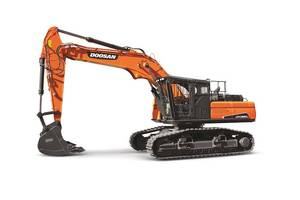 New DX300LL-5 and DX380LL-5 Road Builder's Undercarriages Can Forge Across Rough Terrain