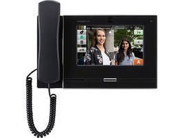 New IXG-MK IP Video Guard Station With Seven-Inch Touchscreen