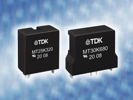New ThermoFuse Varistors with Integrated Thermal Protective Components