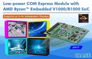 New ET977 COM Express Module Supports Windows 10 and Linux Ubuntu