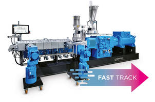 Coperion Provides Extruders for Biocompounds to Sirmax/Fast Track ZSK Extruders: Greatly Shortened Lead Times and Rapid ROI