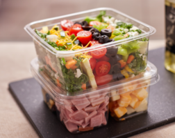 Latest Recycleware Containers are Crystal-Clear, Durable and Leak-Resistant