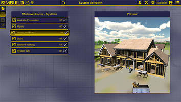 Latest SimBuild Carpentry Software Improves Access to Residential Construction Training