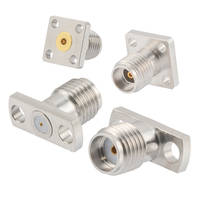 New Field Replaceable RF Connectors with 2 and 4-Hole Mounting Configurations