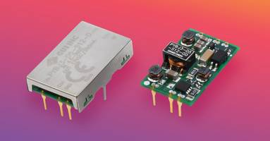 New Dc-Dc Converters Feature 2:1 and 4:1 Input Voltage Range