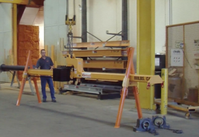 Latest Overhang Lifting Beam Features Auto-Leveler Technology
