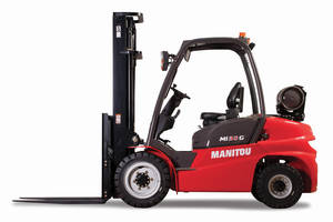 New Dual Fuel Forklifts Equipped with 61 hp GCT Engine