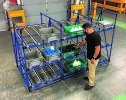 New Heavy Duty Flow Rack with 1200 lb. Load Capacity
