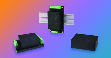 New Ac-Dc Power Supplies Feature 5 to 25 W of Continuous Power