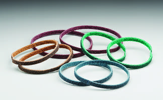 New Non-Woven File Belts Feature Norton Clean Bond Resin System