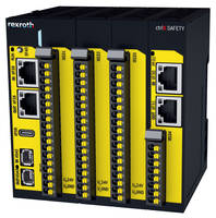 New ctrlX SAFETY Control System Supports Safe Fieldbus Protocols